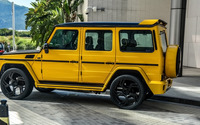 2015 DMC Mercedes-Benz G88 side view wallpaper 1920x1080 jpg