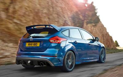 2015 Ford Focus RS back view wallpaper