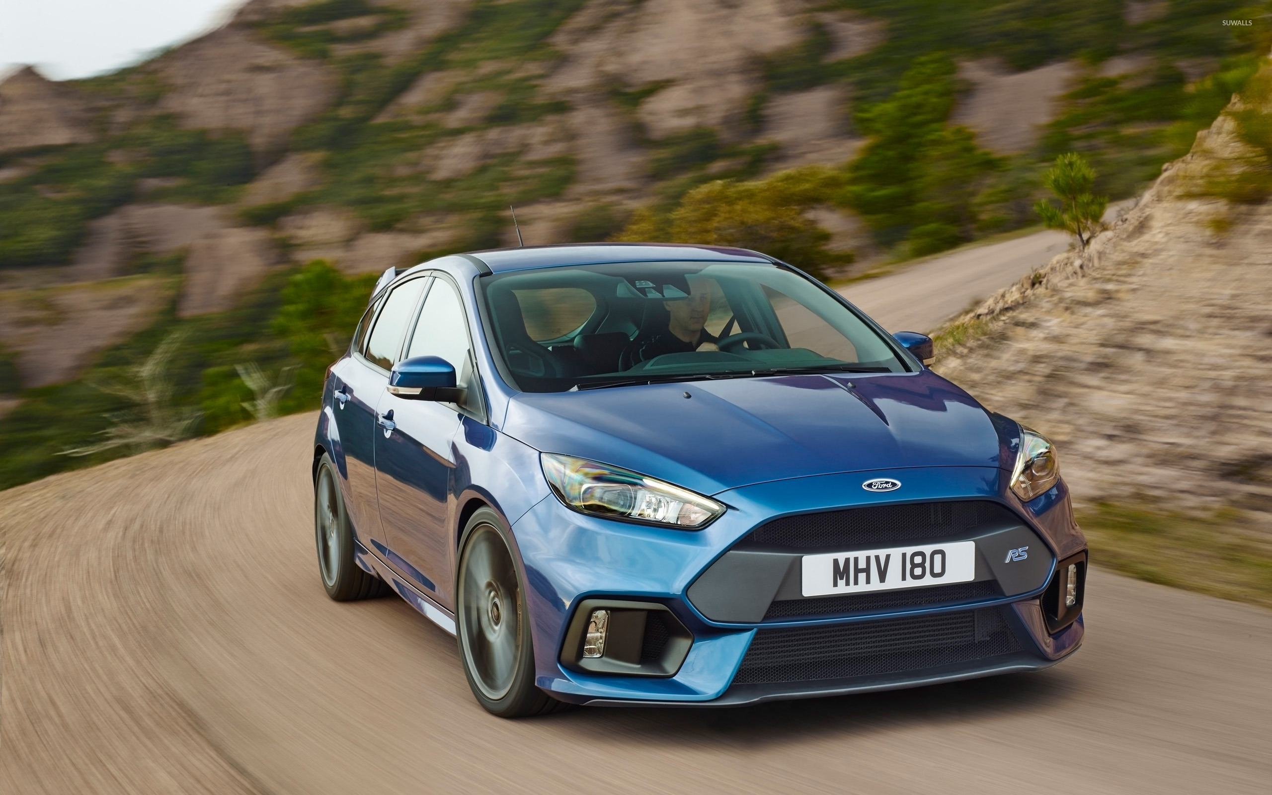 2015 Ford Focus Rs Front View Wallpaper Car Wallpapers