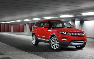 2015 Land Rover Range Rover Evoque side view wallpaper