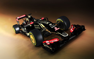 Lotus F1 [3] wallpaper