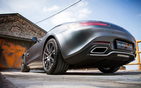 2015 Mcchip-DKR Mercedes-AMG back view close-up wallpaper 2560x1600 jpg