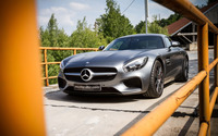 2015 Mcchip-DKR Mercedes-AMG front view wallpaper 2560x1600 jpg