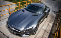 2015 Mcchip-DKR Mercedes-AMG top view wallpaper 1920x1200 jpg