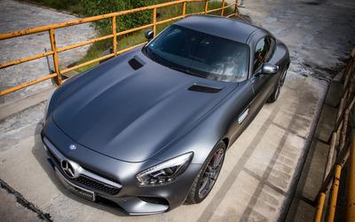 2015 Mcchip-DKR Mercedes-AMG top view wallpaper