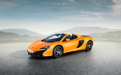2015 McLaren 650S Spider wallpaper