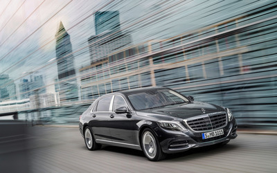 2015 Mercedes-Maybach S600 [3] wallpaper