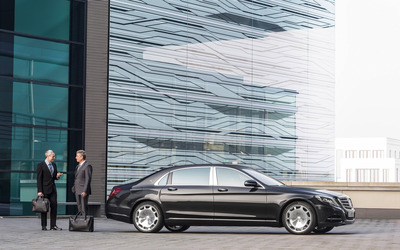 2015 Mercedes-Maybach S600 [21] wallpaper
