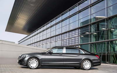 2015 Mercedes-Maybach S600 [7] wallpaper