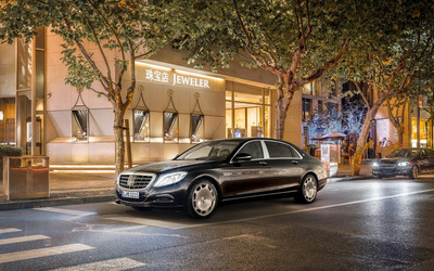 2015 Mercedes-Maybach S600 wallpaper