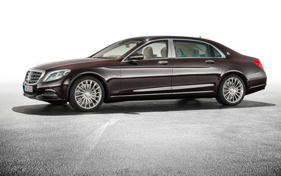 2015 Mercedes-Maybach S600 [4] wallpaper
