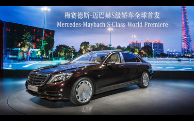 2015 Mercedes-Maybach S600 [22] wallpaper