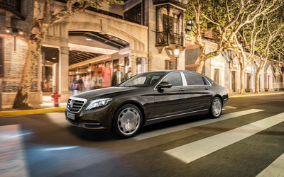2015 Mercedes-Maybach S600 [5] wallpaper
