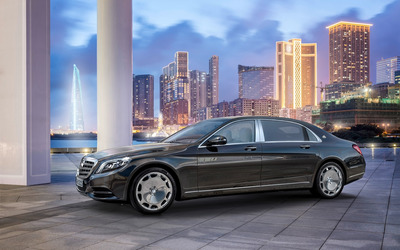 2015 Mercedes-Maybach S600 [2] wallpaper