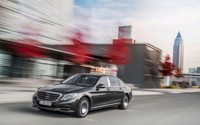 2015 Mercedes-Maybach S600 [20] wallpaper