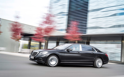 2015 Mercedes-Maybach S600 [27] wallpaper