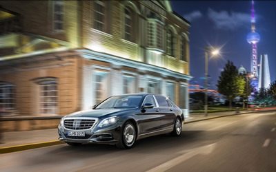 2015 Mercedes-Maybach S600 [6] wallpaper