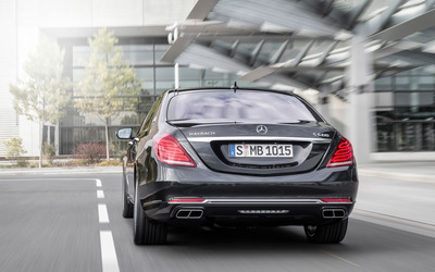 2015 Mercedes-Maybach S600 [24] wallpaper