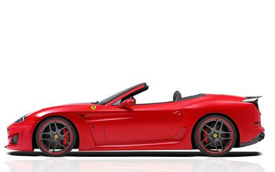 2015 Novitec Rosso Ferrari California convertible wallpaper