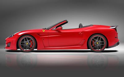 2015 Novitec Rosso Ferrari California convertible side view [2] wallpaper
