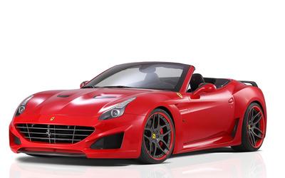 2015 Novitec Rosso Ferrari California convertible side view wallpaper