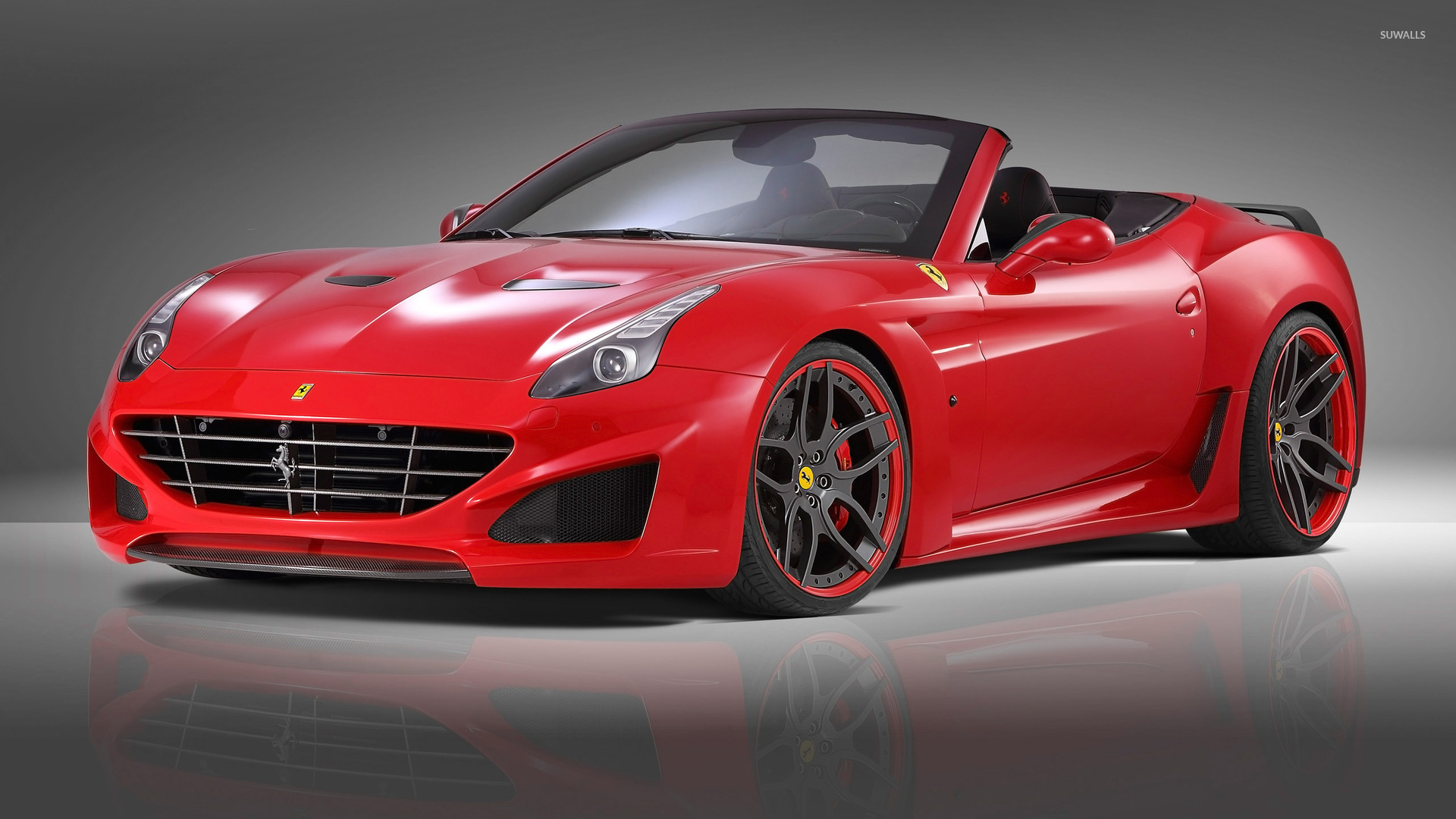 2015 Novitec Rosso Ferrari California front side view ...