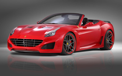 2015 Novitec Rosso Ferrari California front side view wallpaper