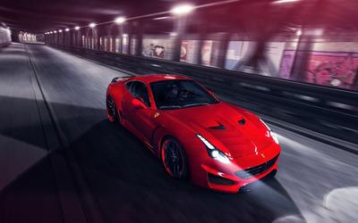 2015 Novitec Rosso Ferrari California front view wallpaper