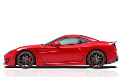 2015 Novitec Rosso Ferrari California side view wallpaper