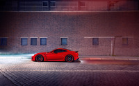 2015 Novitec Rosso Ferrari California side view from far wallpaper 2560x1600 jpg