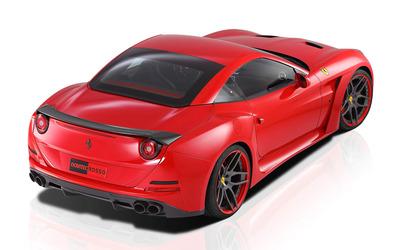 2015 Novitec Rosso Ferrari California top view wallpaper