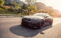 2015 Prior Design Nissan GT-R front view wallpaper 1920x1200 jpg