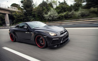 2015 Prior Design Nissan GT-R on the road wallpaper 2560x1600 jpg