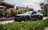 2015 Prior Design Nissan GT-R side view on the road wallpaper 1920x1200 jpg