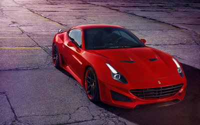 2015 Red Novitec Rosso Ferrari California wallpaper