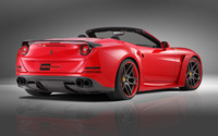 2015 Red Novitec Rosso Ferrari California back side view wallpaper 2560x1600 jpg