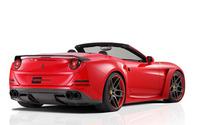 2015 Red Novitec Rosso Ferrari California convertible side view wallpaper 2560x1600 jpg