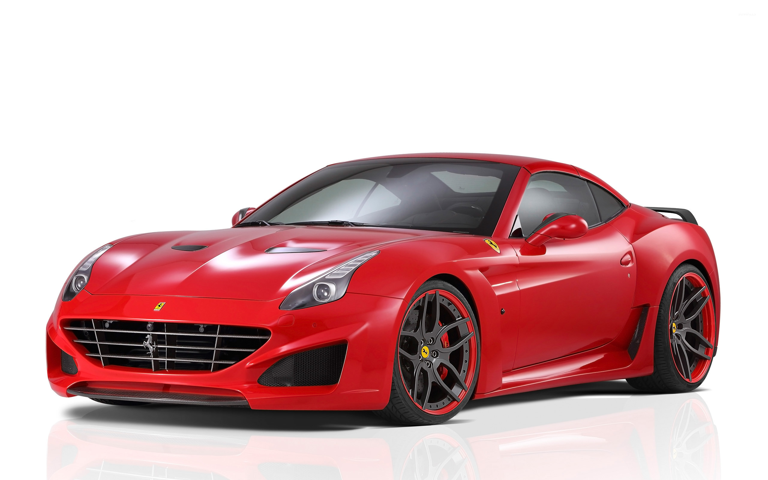 2015 Red Novitec Rosso Ferrari California Front Side View 2