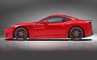 2015 Red Novitec Rosso Ferrari California side view wallpaper 2560x1600 jpg