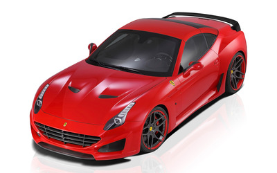 2015 Red Novitec Rosso Ferrari California top view [2] wallpaper