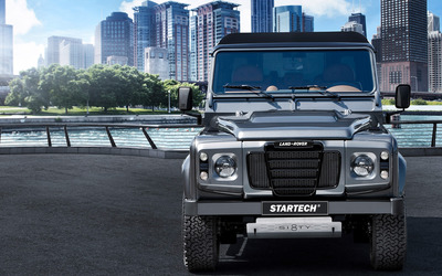 2015 Startech Land Rover Sixty8 front view wallpaper