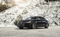 2015 Vorsteiner Audi S3 side view wallpaper 1920x1200 jpg