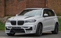2015 White ART BMW X5 front side view wallpaper 1920x1080 jpg