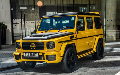 2015 Yellow DMC Mercedes-Benz G88 wallpaper