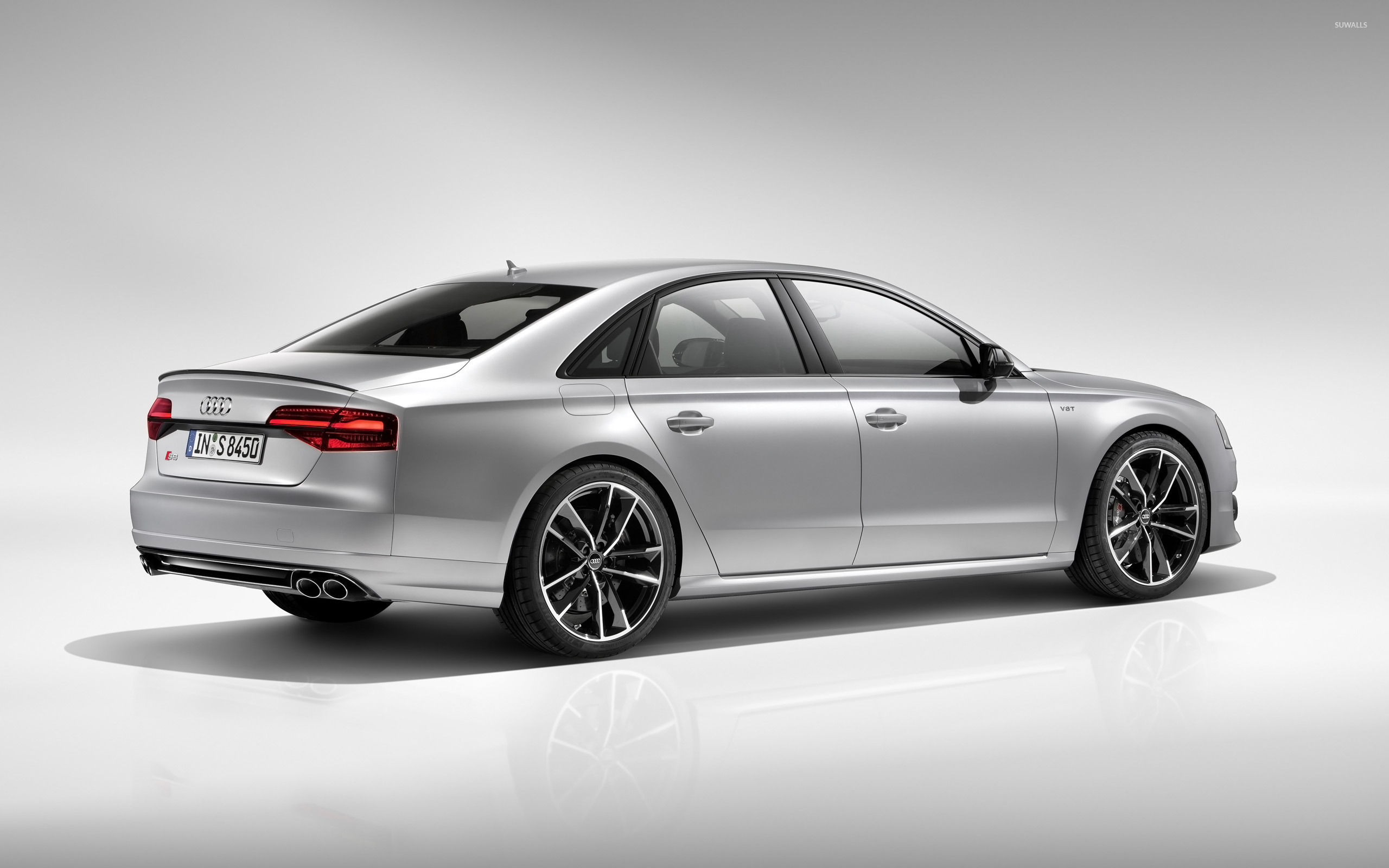 2016 Audi S8 Back Side View Wallpaper Car Wallpapers 50905