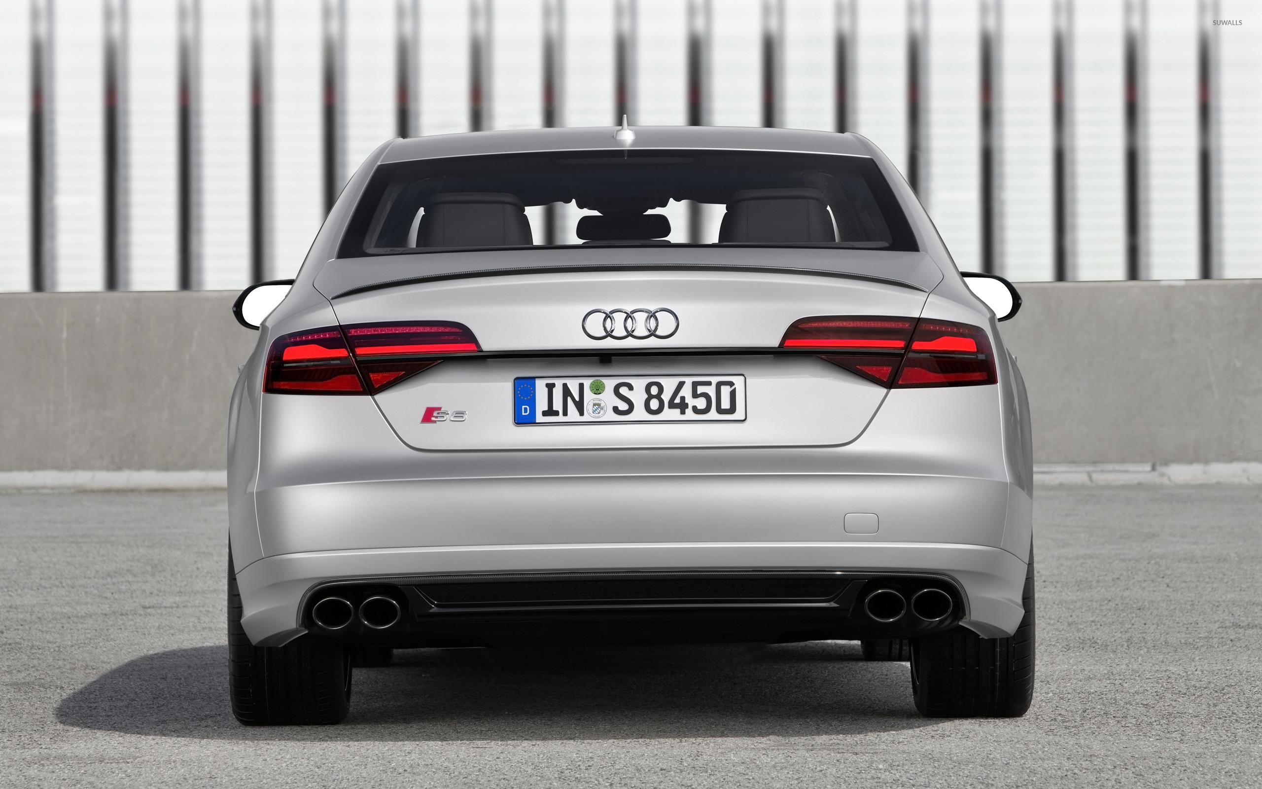 2016 Audi S8 Back View Wallpaper Car Wallpapers 50886