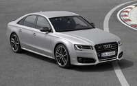 2016 Audi S8 front view on a racing track wallpaper 2560x1600 jpg