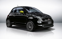 2016 Black Fiat 500 wallpaper 2560x1600 jpg