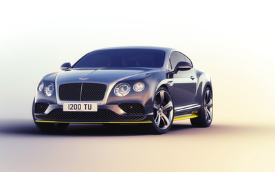 2016 Breitling Bentley Continental GT front view wallpaper