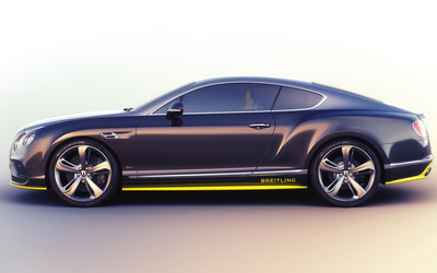 2016 Breitling Bentley Continental GT side view wallpaper
